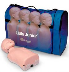 Manequim de Treinamento Little Junior com Bolsa de Transporte