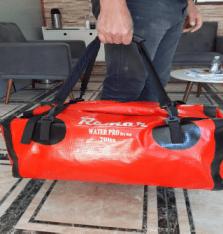 Bolsa estanque 70 litros especial com alça de mão e de costas